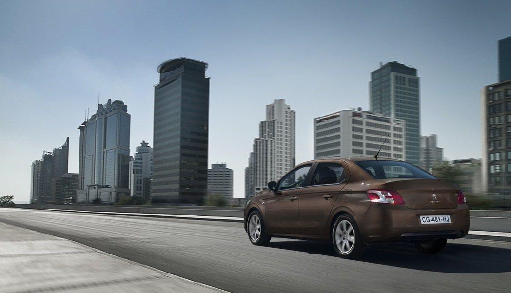 Peugeot 301將加入進口中小型四門房車市場。 圖/寶嘉聯合提供
