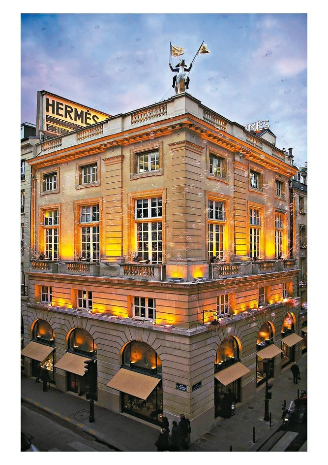 愛馬仕私人博物館位於巴黎福寶大道旗艦店的樓上。 圖/陳若齡攝影、愛馬仕提供