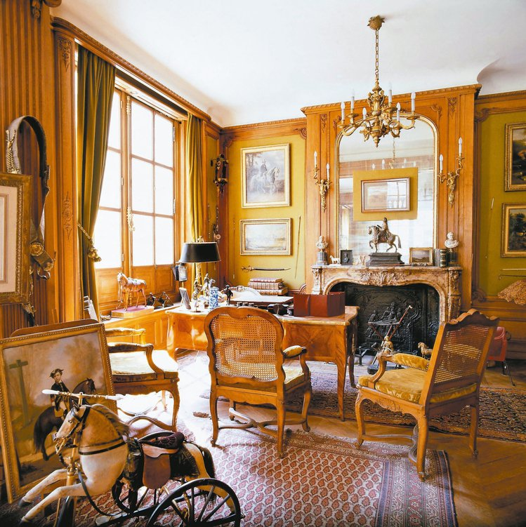 現在的私人博物館原是愛馬仕第三代傳人Emile Hermes的辦公書房。 圖/陳...