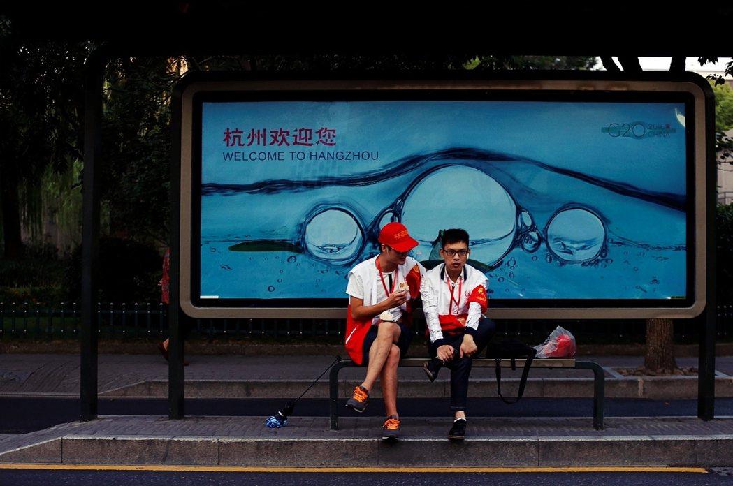 「杭州歡迎您。」為了準備9月4-5日的G20峰會,中國政府幾乎以「戒嚴」規模淨空...