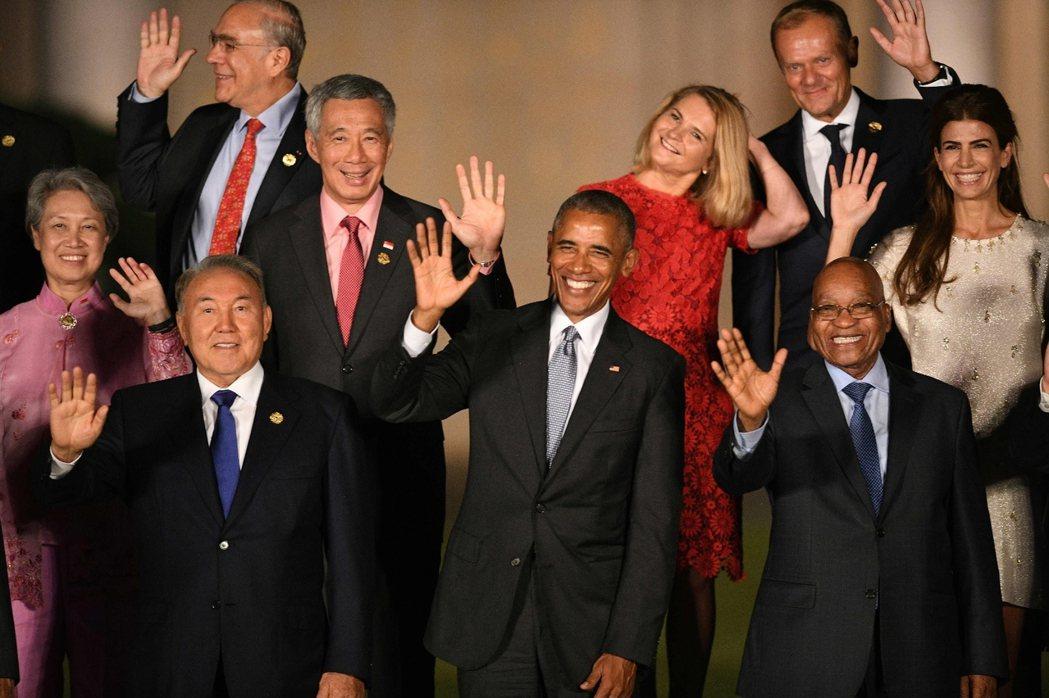全方位的議題結構,使G20逐漸取代G7/8的角色,成為全球治理的主要平台。 圖/...