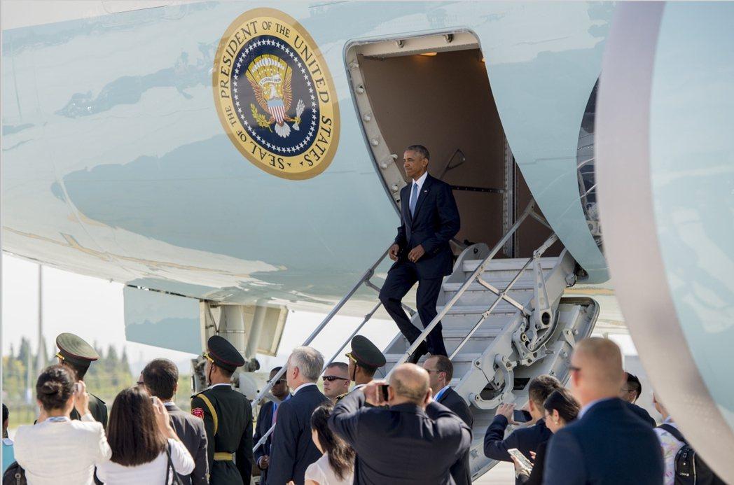 杭州G20峰會期間,習近平與歐巴馬的一言一行亦受矚目,像是9月4日歐巴馬降落杭州...