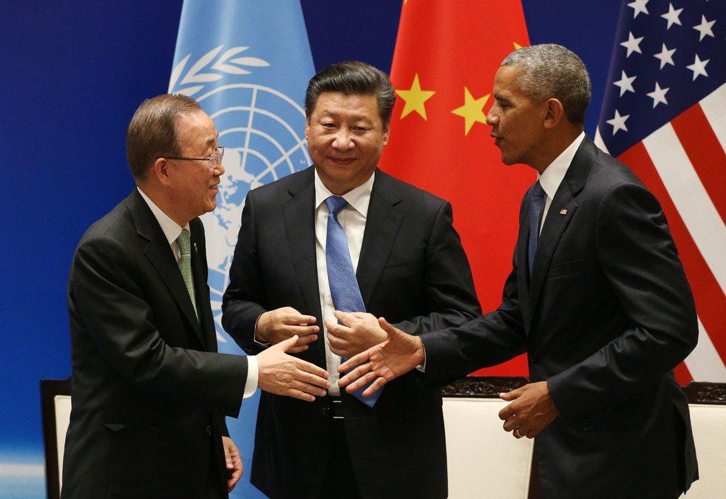 「中美兩國將在未來氣候變遷議題上扮演領導作用…希望其他未批准的國家能夠起而效尤。...