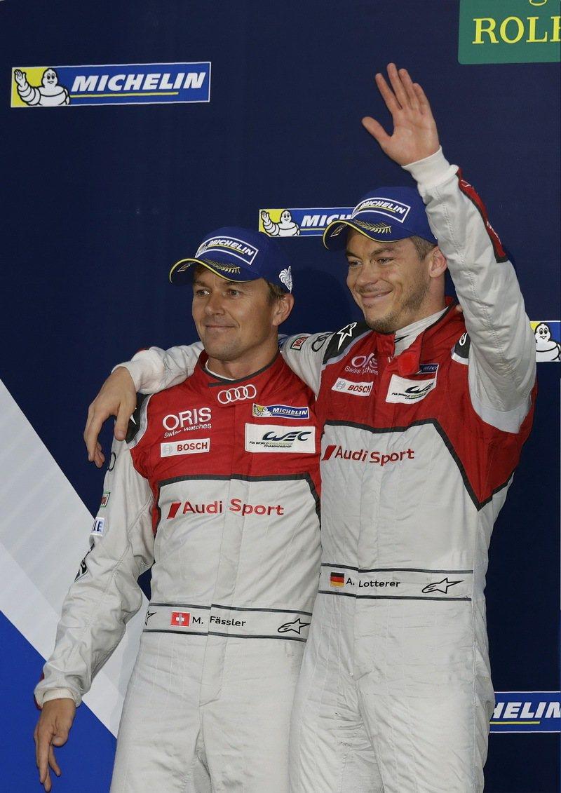 Audi Sport Team Joest廠隊Audi R18 e-tron q...