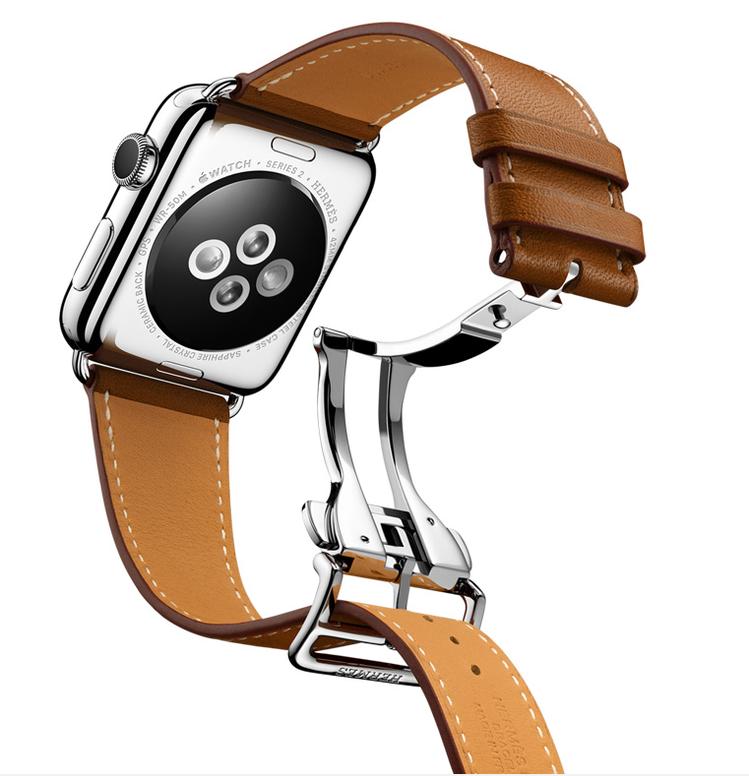 HERMES Apple Watch新品,蝴蝶扣表帶設計以俐落造型全新演繹 He...