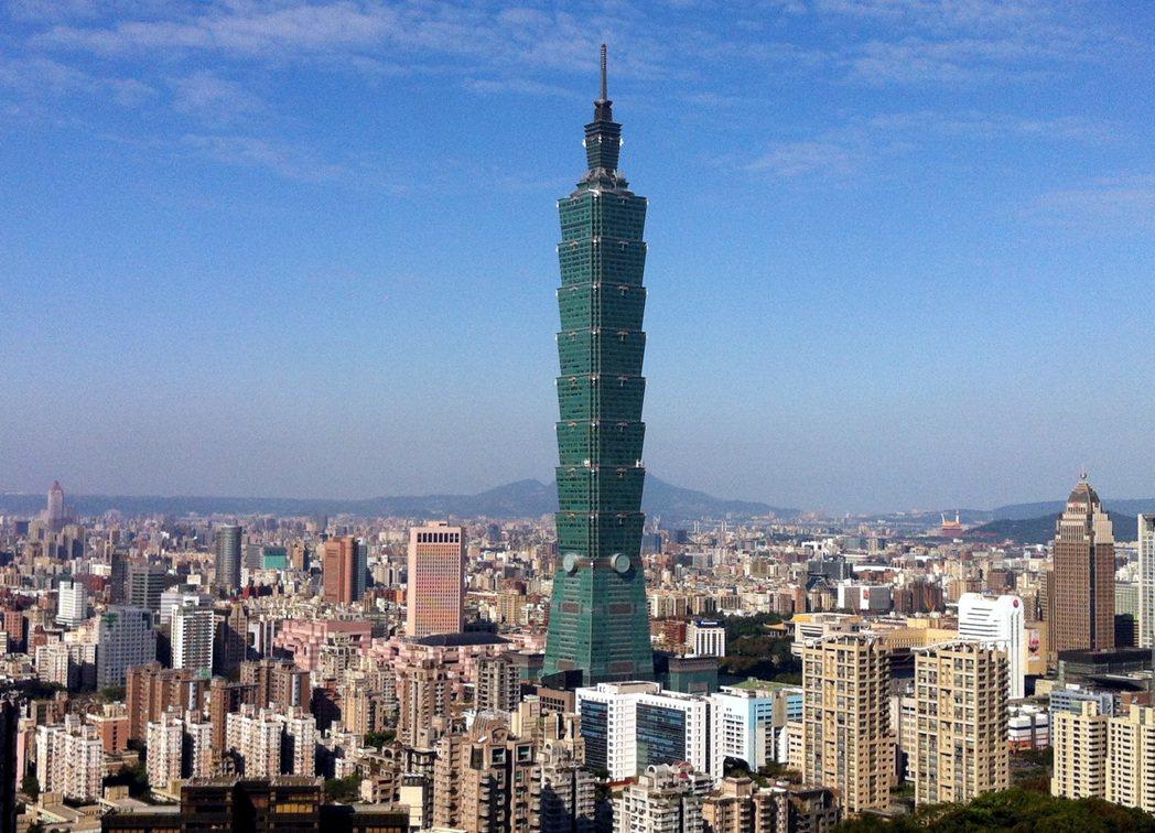 台北101大樓。 聯合報系資料照