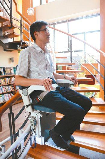 羅布森升降椅使用狀況。