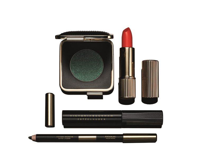 維多利亞貝克漢以巴黎為靈感的聯名彩妝。圖/雅詩蘭黛提供