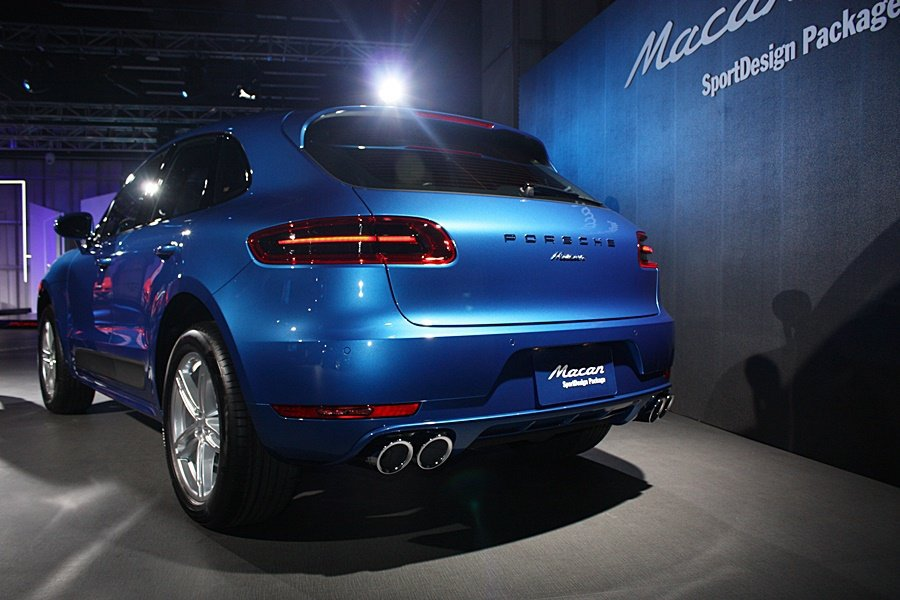 Macan SportDesign Package車型搭載SportDesign...