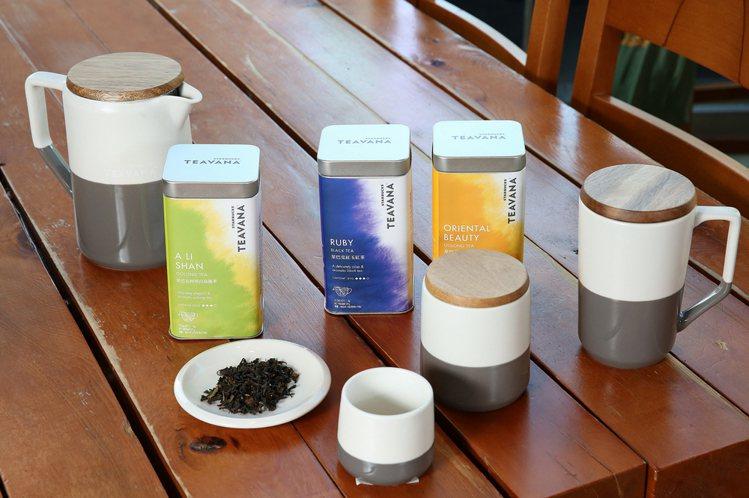 看好精緻茶飲市場 ,星巴克旗下品牌「TEAVANA茶瓦納」於亞太地區登場。圖/星...