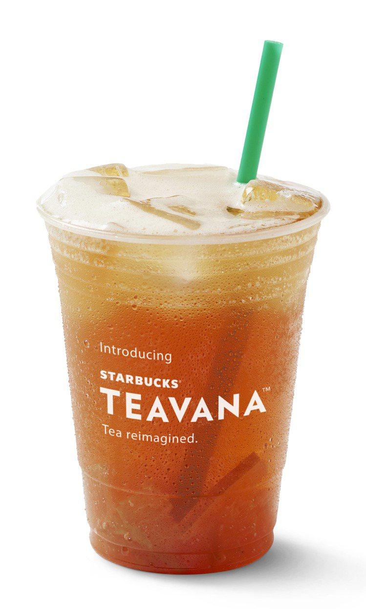 星巴克TEAVANA蜜柚紅茶,110-155元不等。圖/星巴克提供
