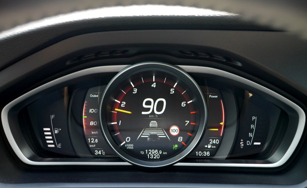 ACC主動車距控制巡航系統。 記者陳威任/攝影