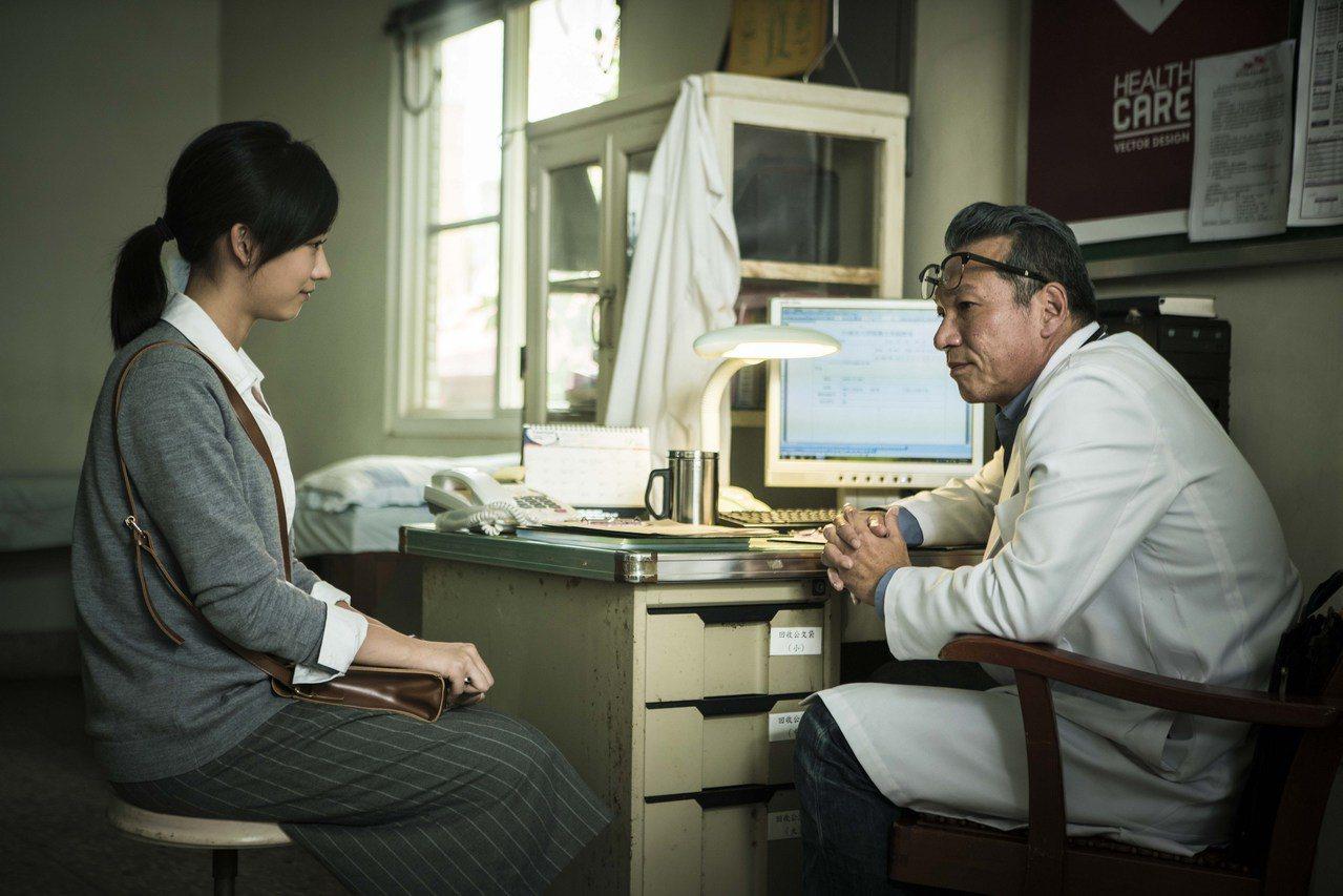黃仲崑(右)與孟耿如在「麻醉風暴2」中對戲。圖/公視提供