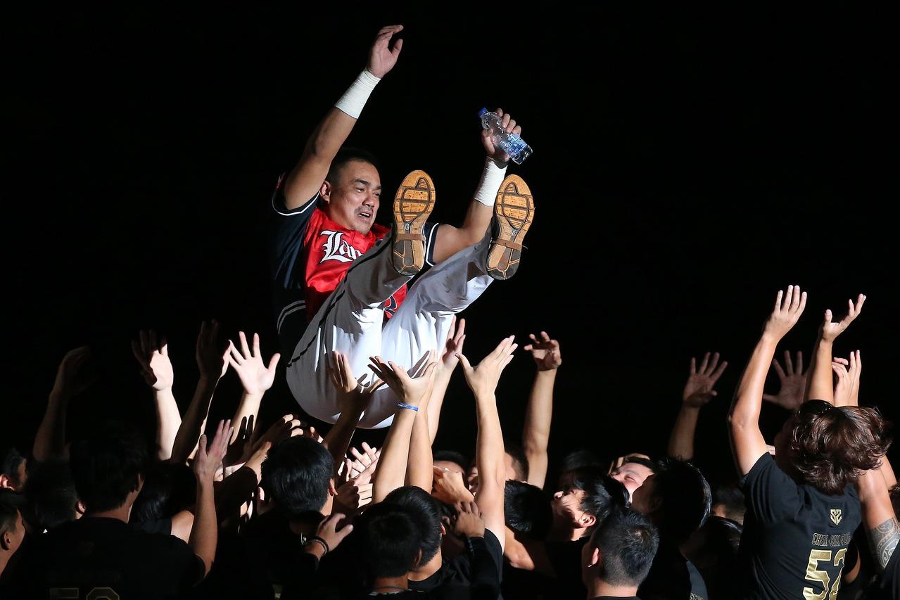 陳金鋒退休了,但留給台灣棒球的文化會永遠流傳。 聯合報系資料照 記者余承翰/攝影