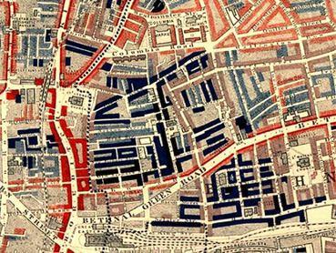 東倫敦在傳統上一直是貧窮的代名詞,根據十九世紀社會觀察家查爾斯•布斯的統計,當時...