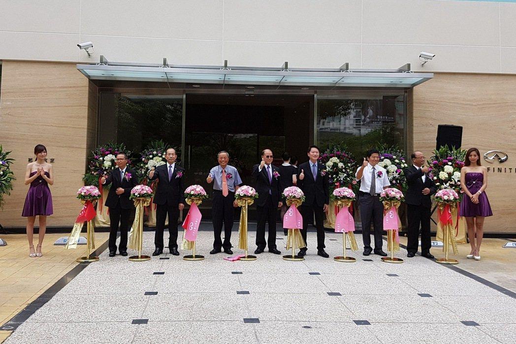 INFINITI 台中市政旗艦展示中心也於9月10日正式開幕。 圖/裕隆日產提供