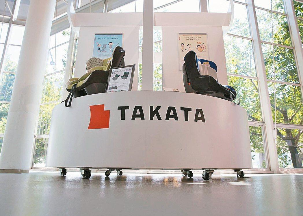 高田再次召回270萬具氣囊。 摘自歐新社