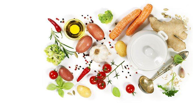 回歸天然的生鮮蔬果魚肉、堅果種子乾豆,還有糙米小米蕎麥藜麥等不含麩質穀物,才是告...