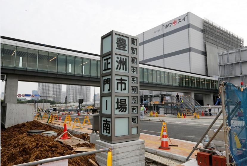新的豐洲市場原預定於11月7日盛大開幕。 圖/路透社