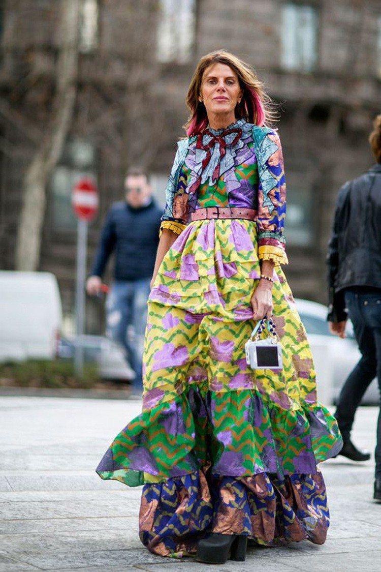 Anna Dello Russo是Gucci愛好者。圖/擷取自pinterest...