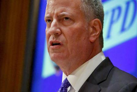 紐約市長嗆川普 將竭盡所能保護移民