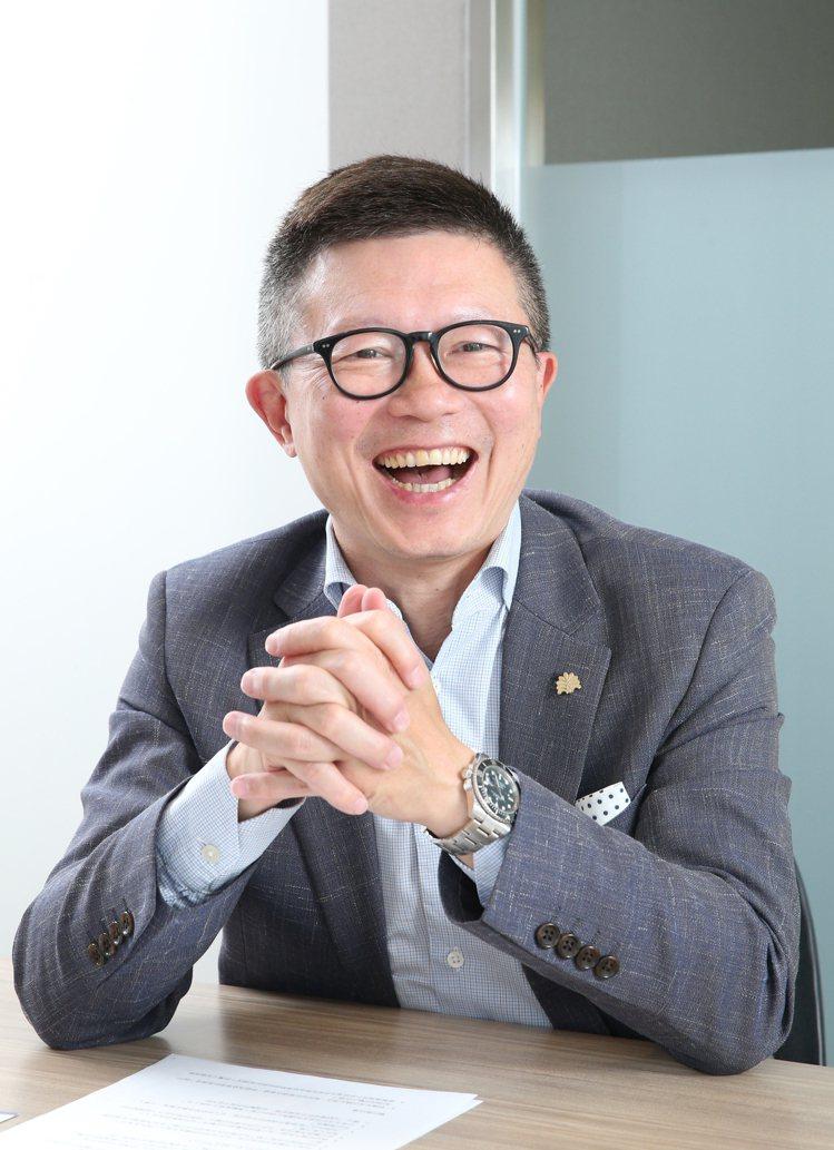 老爺酒店執行長沈方正。記者蘇健忠/攝影