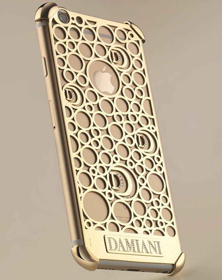DAMIANI iPhone7手機殼,參考售價41萬5,000元。圖/DAMIA...