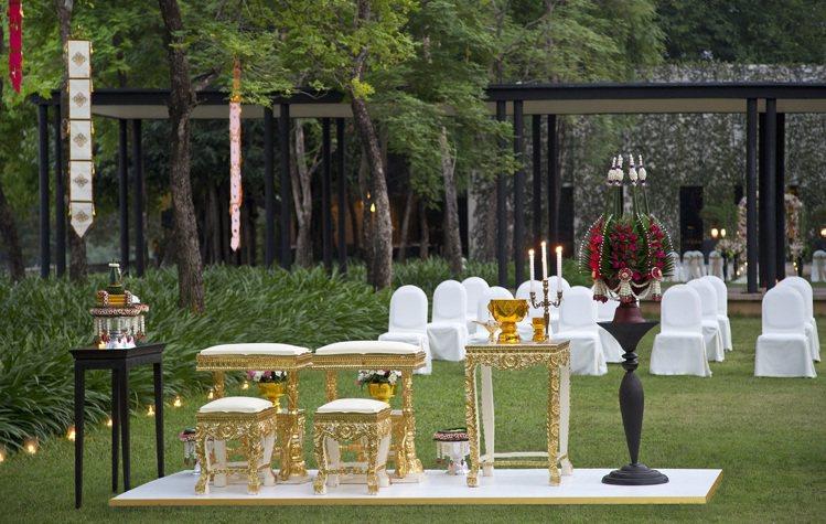清邁的這家星級酒店,也是熱門的婚宴地。圖片提供/Anantara Chiang ...