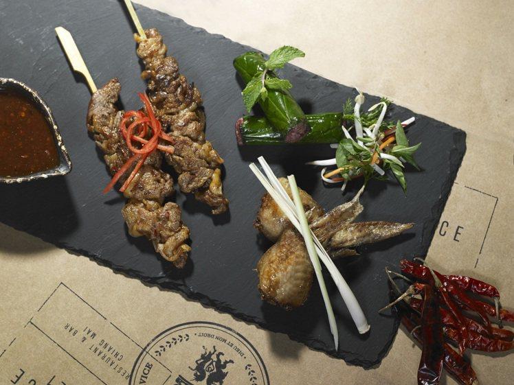 餐食精采也不在話下。圖片提供/Anantara Chiang Mai Resor...