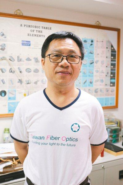 巨晰光纖董事長呂俊毅。