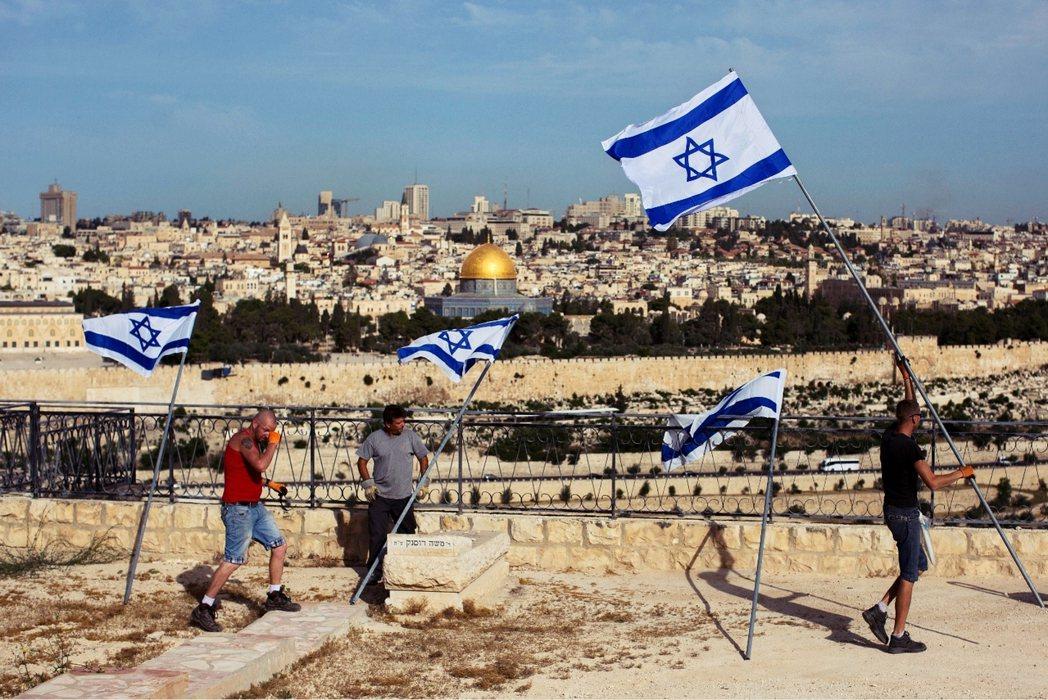 爭議的聖城,耶路撒冷。 圖/美聯社