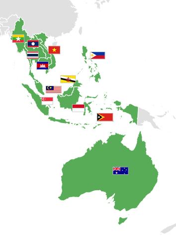 創立於1984年的東南亞足球協會,擁有12個會員成員。 圖/維基共享