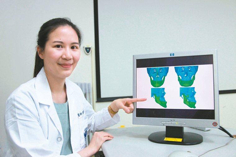 成大醫院斗六分院口腔外科醫師鄭可欣表示,民眾牙齒或上下顎沒有在正確位置,可透過正...