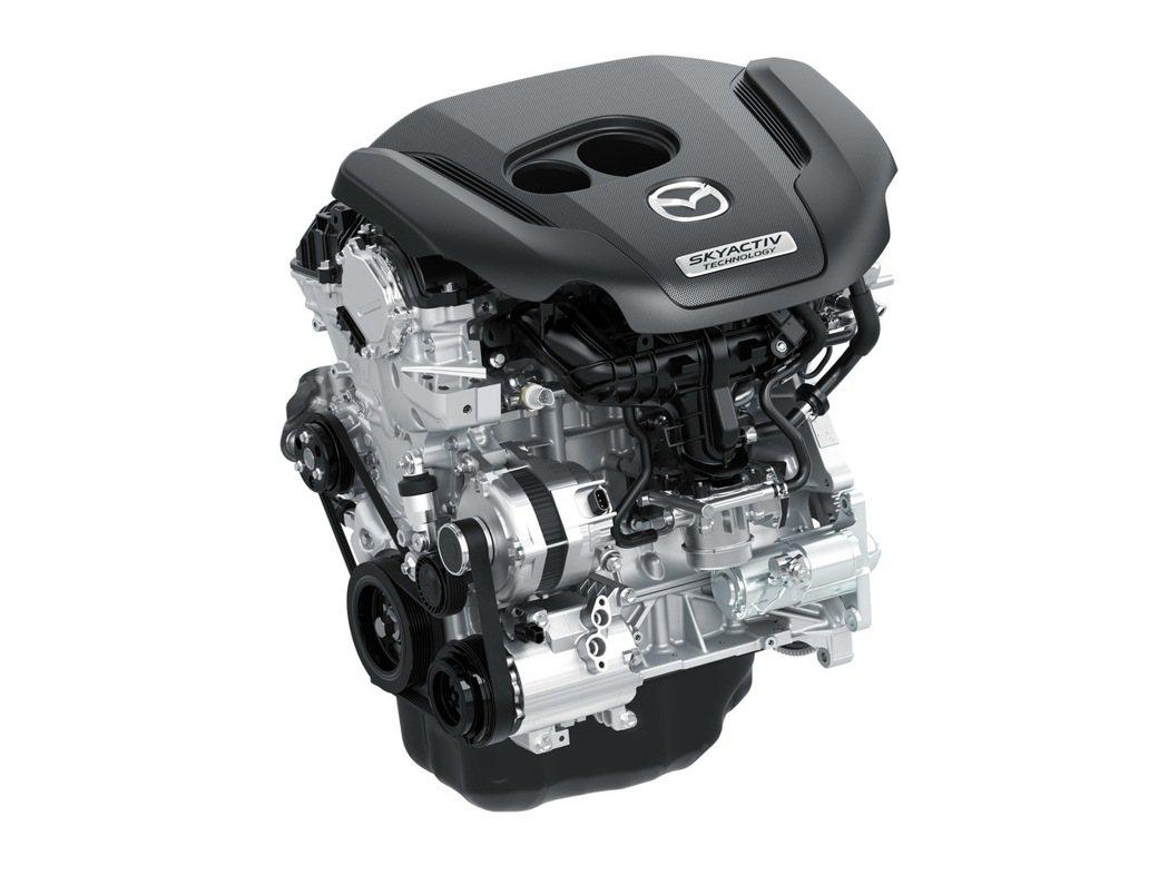 SKYACTIV-G 2.5 T汽油渦輪增壓引擎。 圖/Mazda提供