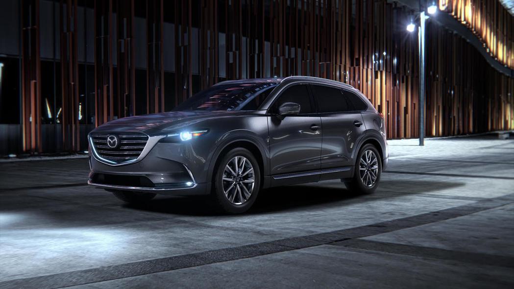 Mazda CX-9。 圖/Mazda提供