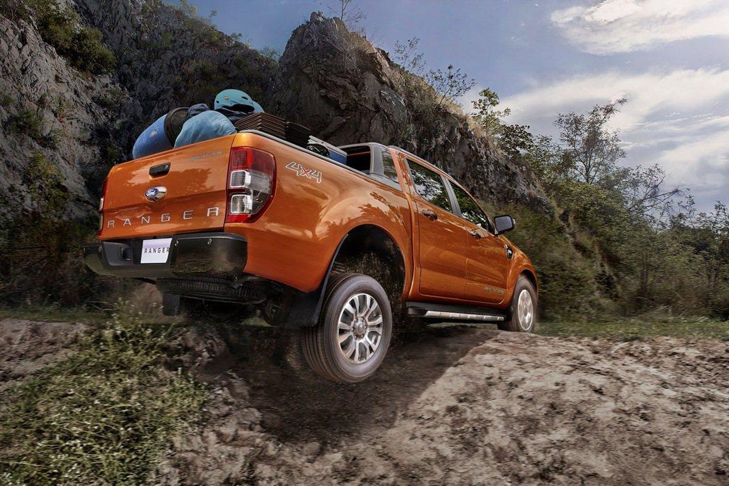 2017年式Ford Ranger搭載高科技SYNC 3娛樂通訊整合系統,科技升...