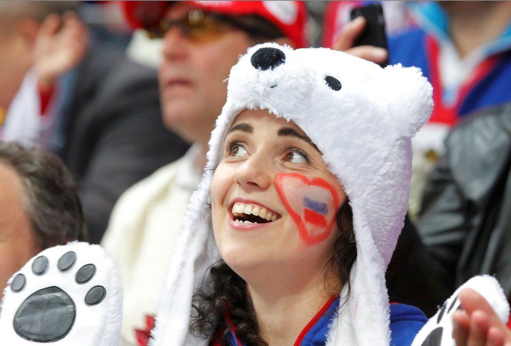 北極熊悄悄東進,俄羅斯人以冰球運動,向鄰國與盟友推動軟性文化擴張。 圖/路透社