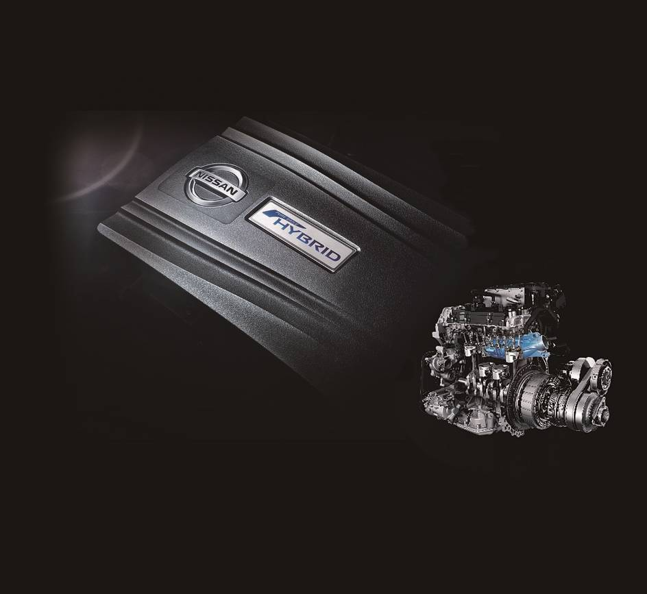 HYBRID X 250HP綜效馬力,環保、力量完美結合。 圖/裕隆日產提供