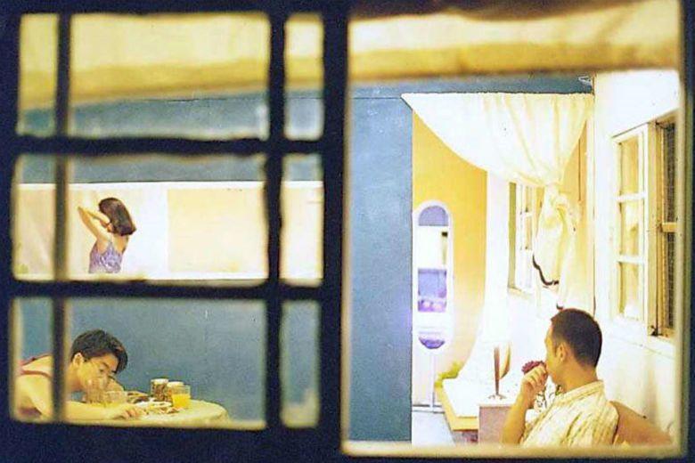 詩人鴻鴻所導的第一部電影《3橘之戀》,由橘子引出三段同性、異性間不同的感情。 圖/電影《3橘之戀》