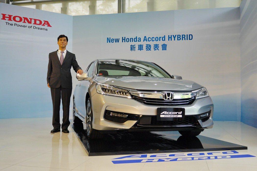 Honda Taiwan董事長伊藤隆人出席全新Honda Accord Hybr...