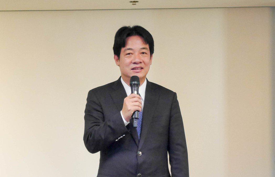 中國大陸有旅遊業者推出到台灣8個泛藍執政縣市之旅,台南市長賴清德今天受訪時表示,...
