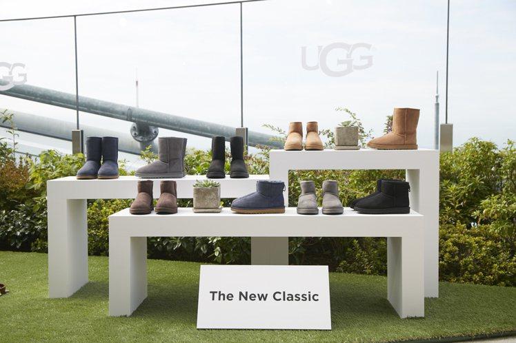經典Classic靴款是UGG創立38年來最受歡迎的明星商品,本季特別推出升級商...
