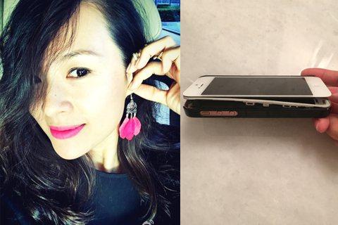 台灣最近傳出手機Note 7 爆炸的事件,而藝人章子怡7日也在微博上說道自己手機也變「爆款」,章子怡還附上一張「爆款」手機的照片,照片中的手機一層一層地被掀開。網友看了照片,還開玩笑地說:「知道蘋果...