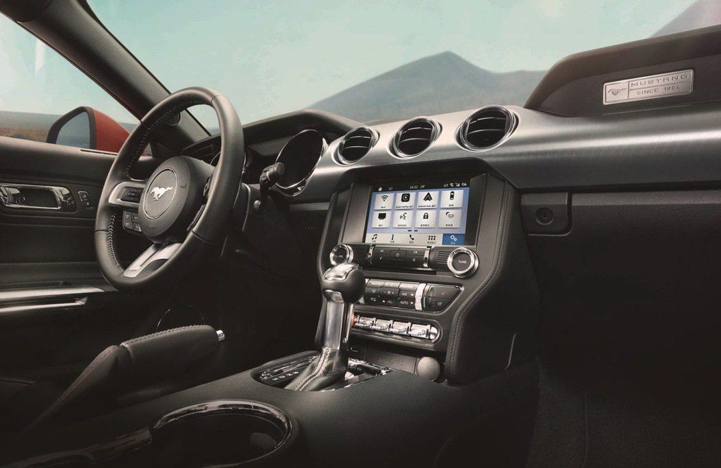 全新2017年式Ford Mustang,升級最新SYNC 3娛樂通訊整合系統,...