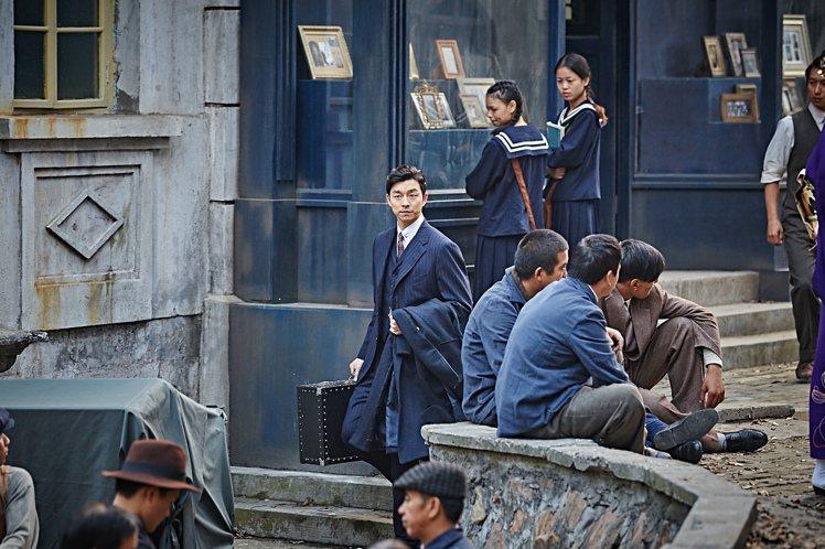 孔劉主演的新片「密探」在韓國大賣。圖/傳影互動提供