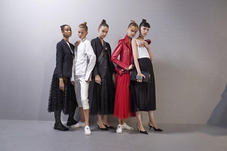 Dior發表2017年春夏時裝系列。圖/Dior提供