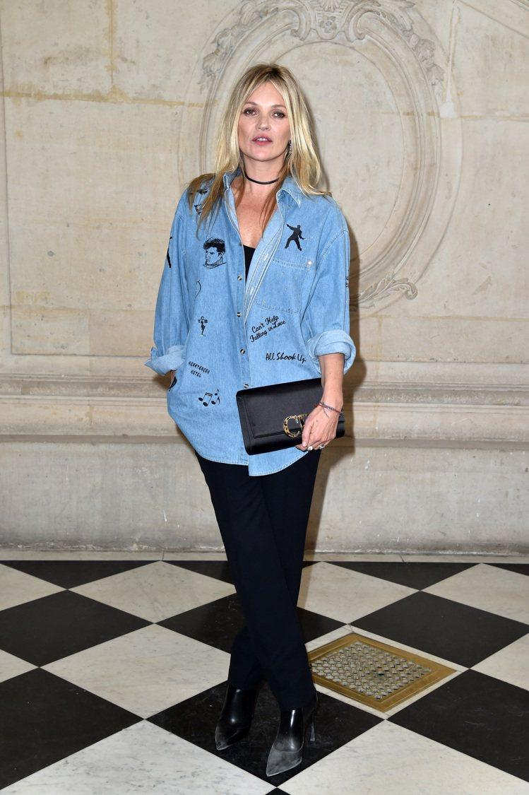 超模凱特摩絲。圖/Dior提供