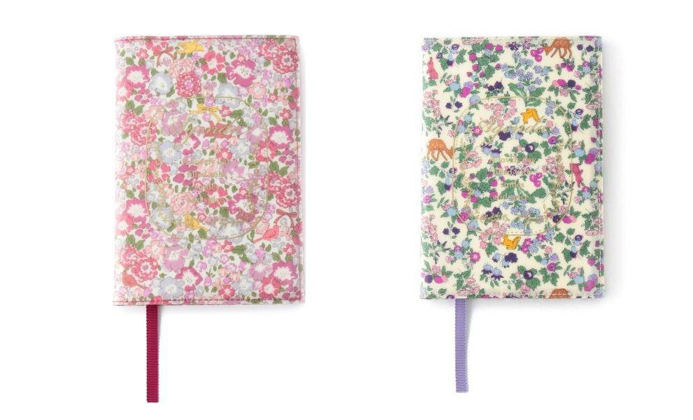 LIBERTY碎花行事曆,無論粉色的Cheerful flower或紫色的Spl...