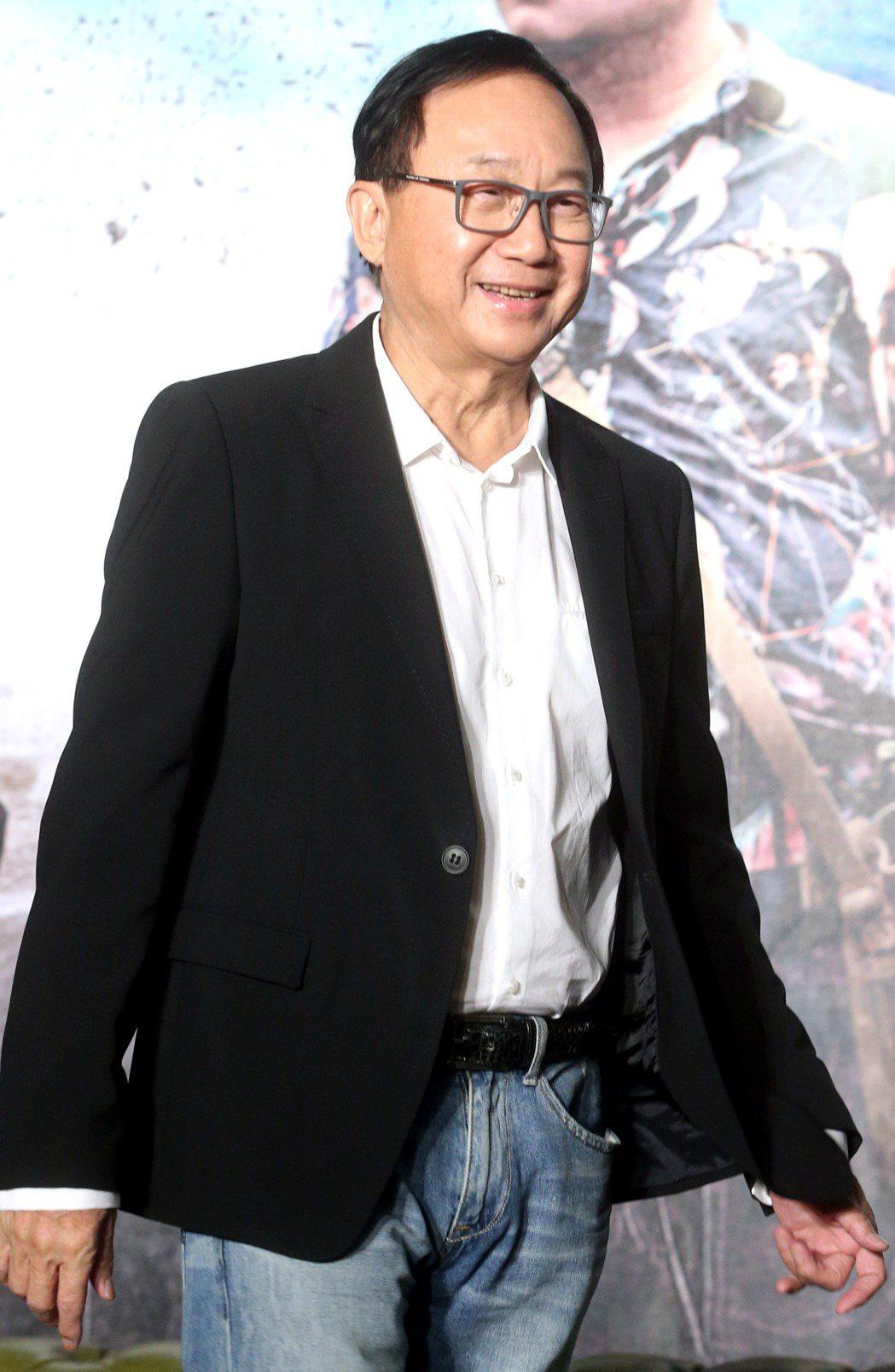 金馬獎入圍提名8項的電影「一路順風」2日舉行記者會,演員許冠文來台出席。記者屠惠...
