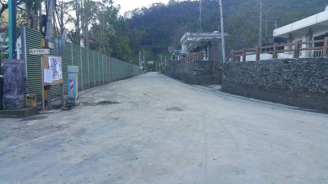 在國軍連續11天支援下,紅葉村初復舊觀。圖/陸軍台東指揮部提供